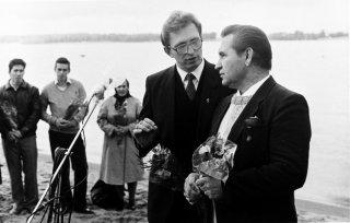 Крещение на Волге с Серпевским 91г.