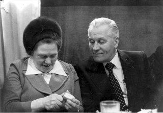 А.Е. Клименко с женой