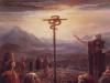 Змей на кресте, в пустыне
