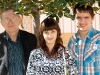 С дочерью Татьяной и сыном Вадимом.