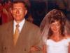 Виктор Семенович с дочерью Татьяной в день свадьбы